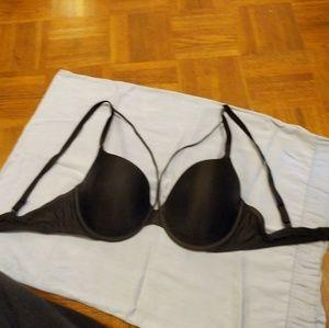 Victoria's Secret Black Stap Bra